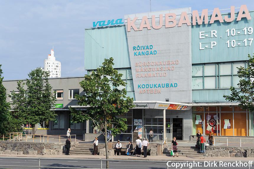 Einkaufszentrum in Tartu, Estland, Europa