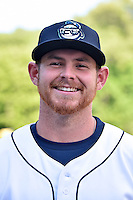 Asheville Tourists pitcher Ryan McCormick (28) before a game against the Lakewood BlueClaws at McCormick Field on May 4, 2016 in Asheville, North Carolina. The Tourists defeated the BlueClaws 2-0. (Tony Farlow/Four Seam Images)
