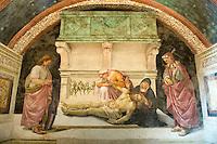 Italien, Umbrien, Brizio-Kapelle im Dom von Orvieto, Fresken von Luca Signorelli