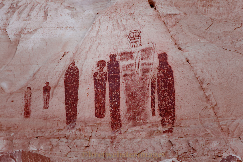 The Ghost Panel of Horseshoe Canyon in Canyonlands National Park.