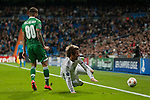 Coentrao of Real Madrid during Champions League match between Real Madrid and Ludogorets at Santiago Bernabeu Stadium in Madrid, Spain. December 09, 2014. (ALTERPHOTOS/Luis Fernandez)