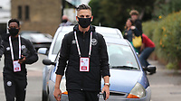 Sergi Canos of Brentford arrives at the ground during Brentford vs Preston North End, Sky Bet EFL Championship Football at Griffin Park on 15th July 2020