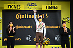 Ben O'Connor (AUS) AG2R Citroën Team wins Stage 9 of the 2021 Tour de France, running 150.8km from Cluses to Tignes, France. 4th July 2021.  <br /> Picture: A.S.O./Pauline Ballet   Cyclefile<br /> <br /> All photos usage must carry mandatory copyright credit (© Cyclefile   A.S.O./Pauline Ballet)