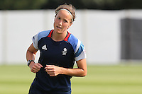 Casey Stoney - Team GB Women training at Cardiff University, Cardiff, Wales - 27/07/12 - MANDATORY CREDIT: Gavin Ellis/SHEKICKS/TGSPHOTO - Self billing applies where appropriate - 0845 094 6026 - contact@tgsphoto.co.uk - NO UNPAID USE.