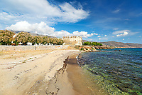 The Bourtzi of Karystos in Evia, Greece