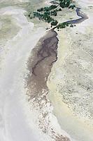 Stream ending.  Great Sand Dunes National Park, Colorado. June 2012