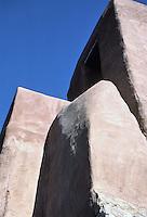 San Miguel Chapel, Santa Fe, New Mexico, July 1987.