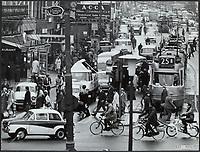 traffic, city of Amsterdam Date: undated circa 1960