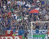 New England Revolution fans. New England Revolution defeated Toronto FC, 3-0, at Gillette Stadium on June 23, 2007.