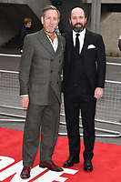 "Michael Smiley and Johnny Harris<br /> at the ""Jawbone"" premiere held at the bfi, South Bank, London. <br /> <br /> <br /> ©Ash Knotek  D3263  08/05/2017"