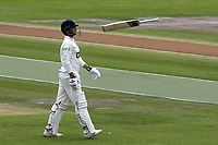 Billy Root of Glamorgan walks back to the Pavilion after being given out lbw to Sussex bowler, Stiaan Van Zyl during Sussex CCC vs Glamorgan CCC, LV Insurance County Championship Group 3 Cricket at The 1st Central County Ground on 5th July 2021