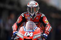 13th November 2020, Circuit Ricardo Tormo, Valencia, Spain;  MotoGP, Grand Prix of Valencia, free practise sessions;  04 Andrea Dovizioso ITA