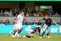 SAN JOSE, CA - JULY 27: Shea Salinas during a Major League Soccer (MLS) match between the San Jose Earthquakes and the Colorado Rapids on July 27, 2019 at Avaya Stadium in San Jose, California.