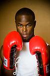Boxer Jason Keller in Oxford, Miss.