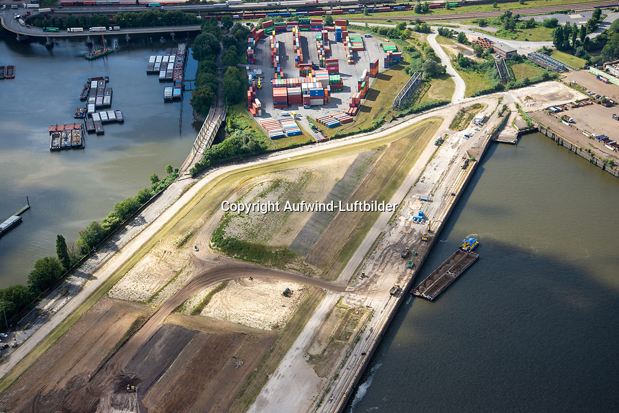 Hansaterminal: EUROPA, DEUTSCHLAND, HAMBURG 26.08.2021 Hansaterminal im Hamburger Hafen beim Umbau