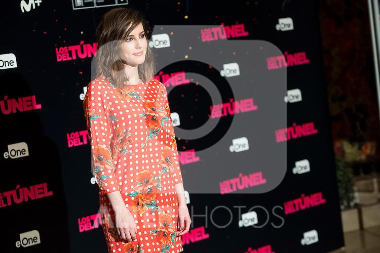"Natalia de Molina attends to the junket of the film ""Los del Tunel"" at Palafox Cinema in Madrid, Spain. January 17, 2017. (ALTERPHOTOS/BorjaB.Hojas)"