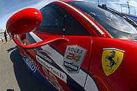 28-31 January, 2016, Daytona Beach, Florida USA<br /> 2016 Rolex 24 Logo, 68, Ferrari, F488 GTE, GTLM, Alessandro Pier Guidi, Alexandre Premat, Daniel Serra, Memo Rojas<br /> ©2016, F. Peirce Williams