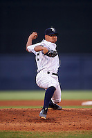 Tampa Yankees starting pitcher Justus Sheffield (20) delivers a pitch during a game against the Daytona Tortugas on August 5, 2016 at George M. Steinbrenner Field in Tampa, Florida.  Tampa defeated Daytona 7-1.  (Mike Janes/Four Seam Images)