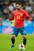 Spain's Isco Alarcon during international friendly match. November 11,2017.(ALTERPHOTOS/Acero) /NortePhoto.com