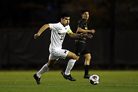 WINSTON-SALEM, NC - DECEMBER 01: Marc Ybarra #23 of the University of Michigan runs with the ball during a game between Michigan and Wake Forest at W. Dennie Spry Stadium on December 01, 2019 in Winston-Salem, North Carolina.
