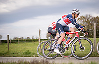 Toms Skujiņš (LVA/Trek - Segafredo)<br /> <br /> 55th Amstel Gold Race 2021 (1.UWT)<br /> 1 day race from Valkenburg to Berg en Terblijt; raced on closed circuit (NED/217km)<br /> <br /> ©kramon