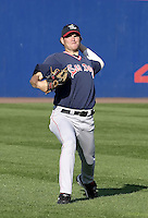 September 2, 2004:  Pitcher Kason Gabbard of the Portland Sea Dogs, Double-A Eastern League affiliate of the Boston Red Sox, during a game at NYSEG Stadium in Binghamton, NY.  Photo by:  Mike Janes/Four Seam Images