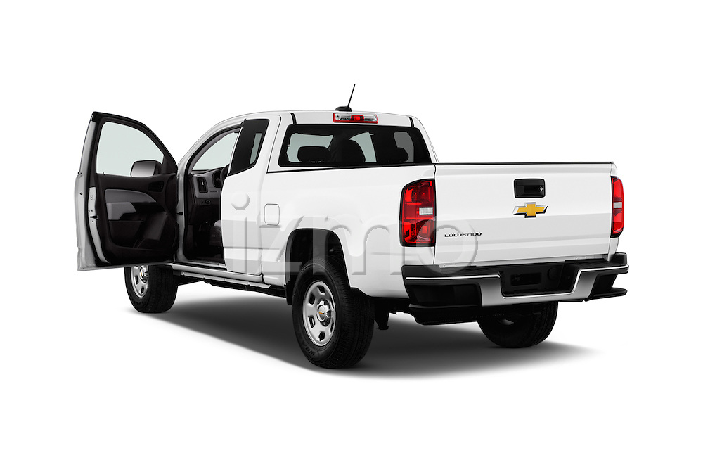 Car images of 2017 Chevrolet Colorado 2WD wt Extended Cab 3 Door Pick-up Doors