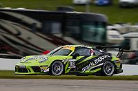 Porsche GT3 Cup Challenge Canada<br /> Victoria Day SpeedFest Weekend<br /> Canadian Tire Motorsport Park, Mosport, ON CAN<br /> Sunday 21 May 2017<br /> 98, Zacharie Robichon, GT3CP, CAN, 2017 Porsche 991<br /> World Copyright: Jake Galstad<br /> LAT Images<br /> ref: Digital Image galstad-CTMP-0517-56076