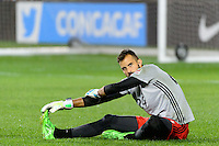 Harrison, NJ - Thursday Sept. 15, 2016: Kyle Reynish prior to a CONCACAF Champions League match between the New York Red Bulls and Alianza FC at Red Bull Arena.