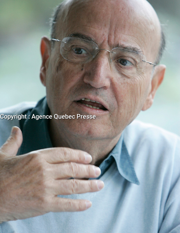 August 2008  - EXCLUSIVE File Photo - Montreal, Quebec, CANADA -Angelopoulos's <br /> interview at World Film Festival