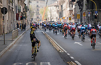 rolling out of Milano<br /> <br /> 110th Milano-Sanremo 2019 (ITA)<br /> One day race from Milano to Sanremo (291km)<br /> <br /> ©kramon