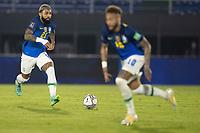 08th June 2021; Defensores del Chaco Stadium, Asuncion, Paraguay; World Cup football 2022 qualifiers; Paraguay versus Brazil;   Gabriel Barbosa of Brazil