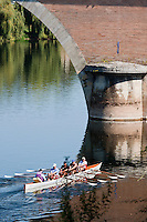 Europe/France/Aquitaine/24/Dordogne/Bergerac: Aviron sur la Dordogne