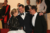ELISABETH MOSS, CLAES BANG AND DOMINIC WEST - RED CARPET OF THE FILM 'THE SQUARE' AT THE 70TH FESTIVAL OF CANNES 2017