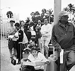 Miami Dade county during the 2008 Presidential election where Barack Obama was elected the new President of the United States. The first African American of the USA.