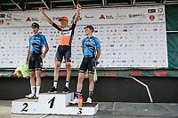 Finish Podium:<br /> <br /> 1. Taco Van der Hoorn (NED/roompot-Nederlandse Loterij)<br /> 2. Wout Van Aert (BEL/Veranda's Willems-Crelan)<br /> 3. Tim Merlier (BEL/Veranda's Willems-Crelan)<br /> <br /> 92th Schaal Sels 2017