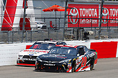 NASCAR Xfinity Series<br /> ToyotaCare 250<br /> Richmond International Raceway, Richmond, VA USA<br /> Saturday 29 April 2017<br /> Kyle Benjamin, ToyotaCare Toyota Camry and Ryan Blaney, Discount Tire Ford Mustang<br /> World Copyright: Russell LaBounty<br /> LAT Images<br /> ref: Digital Image 17RIC1Jrl_3733