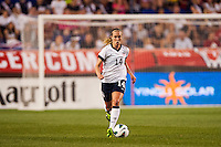 United States (USA) defender Whitney Engen (14). The women's national team of the United States defeated the Korea Republic 5-0 during an international friendly at Red Bull Arena in Harrison, NJ, on June 20, 2013.
