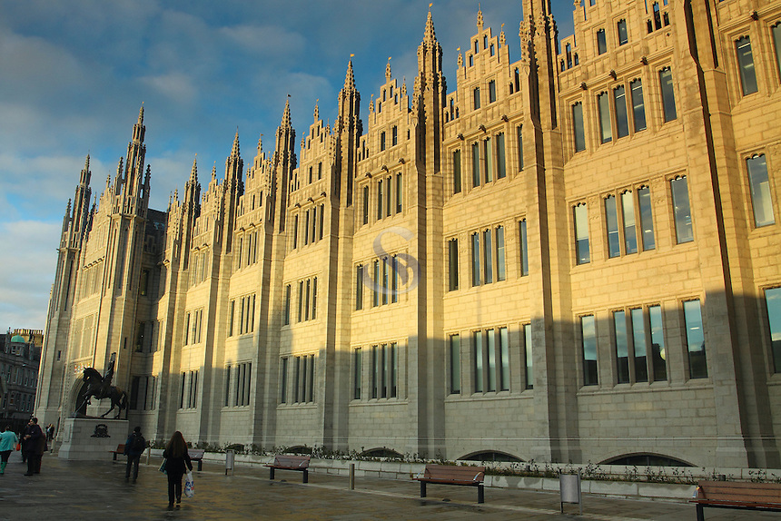 Marischal College, Aberdeen<br /> <br /> Copyright www.scottishhorizons.co.uk/Keith Fergus 2011 All Rights Reserved