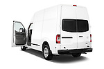 Nissan NV 2500 High Roof V8 S 2013 Cargo Van Stock Photo