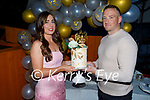 Mary Ellen O'Shea (Ballymac) and Shane Fitzgerald (Strand Rd) celebrating their engagement in Croi on Saturday,