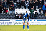 St Mirren v St Johnstone…19.10.19   St Mirren Park   SPFL<br />Anthony Ralston reacts at full time<br />Picture by Graeme Hart.<br />Copyright Perthshire Picture Agency<br />Tel: 01738 623350  Mobile: 07990 594431