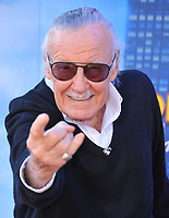 HOLLYWOOD, CA - JUNE 28: Stan Lee attends the premiere of Columbia Pictures' 'Spider-Man: Homecoming' at TCL Chinese Theatre on June 28, 2017 in Hollywood, California.<br /> <br /> <br /> People:  Stan Lee