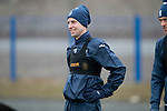St Johnstone Training…06.04.18   McDiarmid Park, Perth<br />Striker Steven MacLean pictured during training this morning ahead of tomorrow's game against Motherwell<br />Picture by Graeme Hart.<br />Copyright Perthshire Picture Agency<br />Tel: 01738 623350  Mobile: 07990 594431