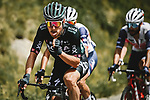 Lukas Postlberger (AUT) Bora-Hansgrohe in the breakaway during Stage 15 of the 2021 Tour de France, running 191.3km from Ceret to Andorre-La-Vieille, France. 11th July 2021.  <br /> Picture: A.S.O./Pauline Ballet | Cyclefile<br /> <br /> All photos usage must carry mandatory copyright credit (© Cyclefile | A.S.O./Pauline Ballet)