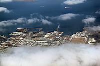 aerial photograph Pier 70 San Francisco, California