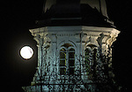 The Supermoon rises over the Capitol in Carson City, Nev. on Monday, Nov. 14, 2016.<br /> Photo by Cathleen Allison