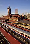 Amtrak at Union Station in Portland, Oregon
