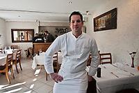 Europe/France/Rhône-Alpes/38/Isére/Grenoble: Nicolas Bottero, restaurant: Mas Bottero [Non destiné à un usage publicitaire - Not intended for an advertising use]