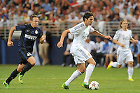 Saint Louis, MO August 10, 2013:<br /> Real Madrid defeated Inter Milan 3-0 in an international friendly at the Edward Jones Dome, St Louis, MO in front of a crowd of 54,184.